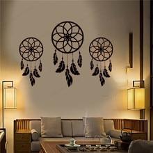Dream vinyl wall decals  Catchers Feather Boho catcher sticker Home Decor removable art mural JH71