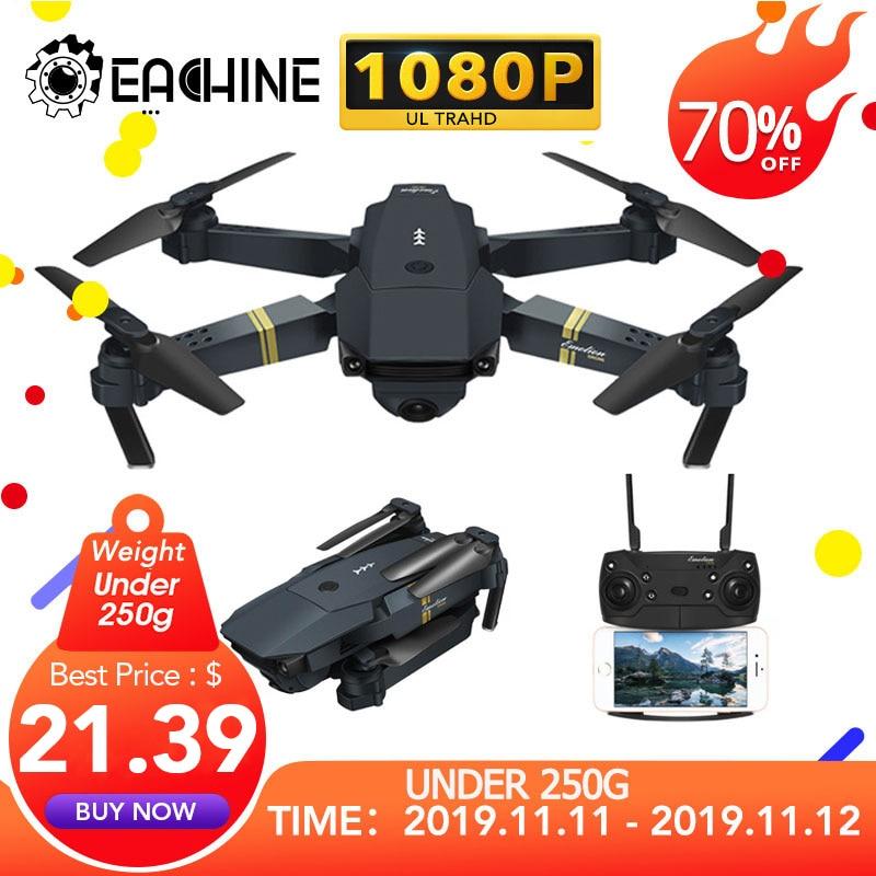 Eachine E58 WIFI FPV Mit Weitwinkel HD 1080P Kamera Hight Halten Modus Faltbare Arm RC Quadcopter Drone X pro RTF Eders Für Geschenk