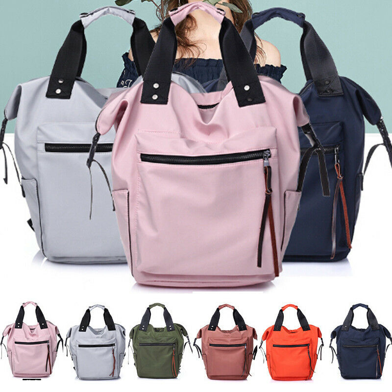 Women Girl Backpack Rucksack Satchel Laptop Shoulder School Bag Satchel Nylon Multi-Function Female Ladies School Backpack Hot