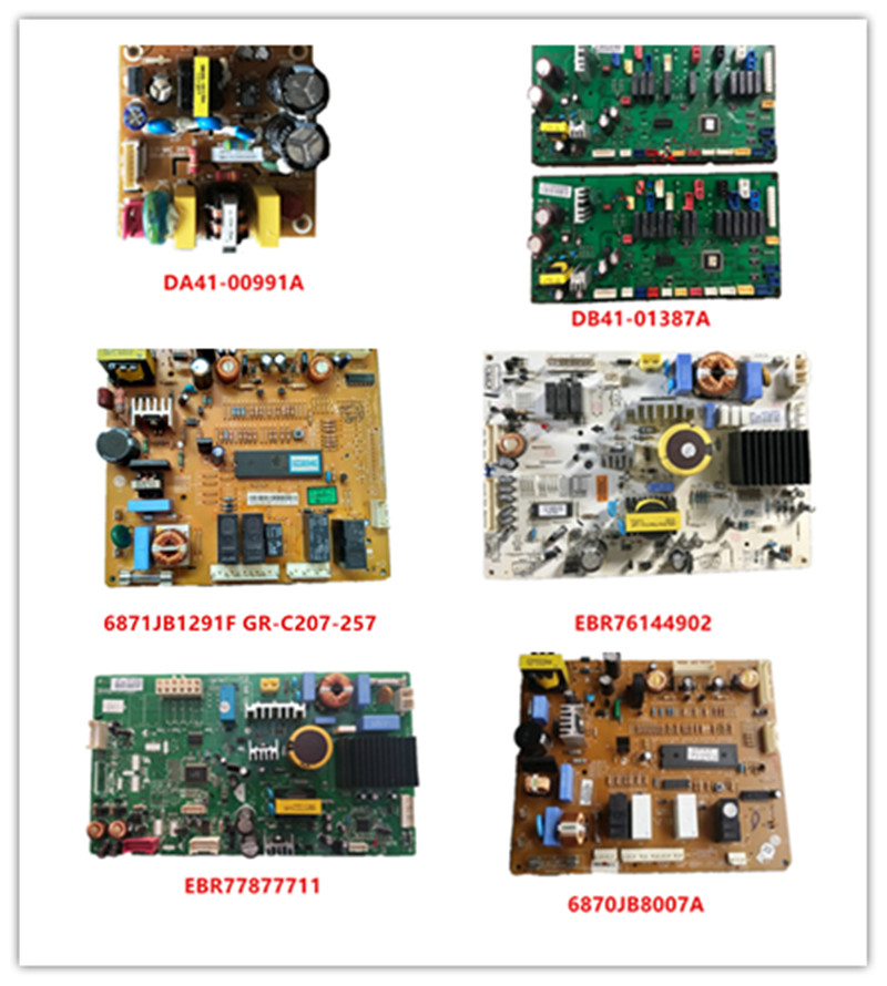 DA41-00991A|DB41-01387A|6871JB1291F GR-C207-257|EBR76144902|EBR77877711|6870JB8007A Used Good Working