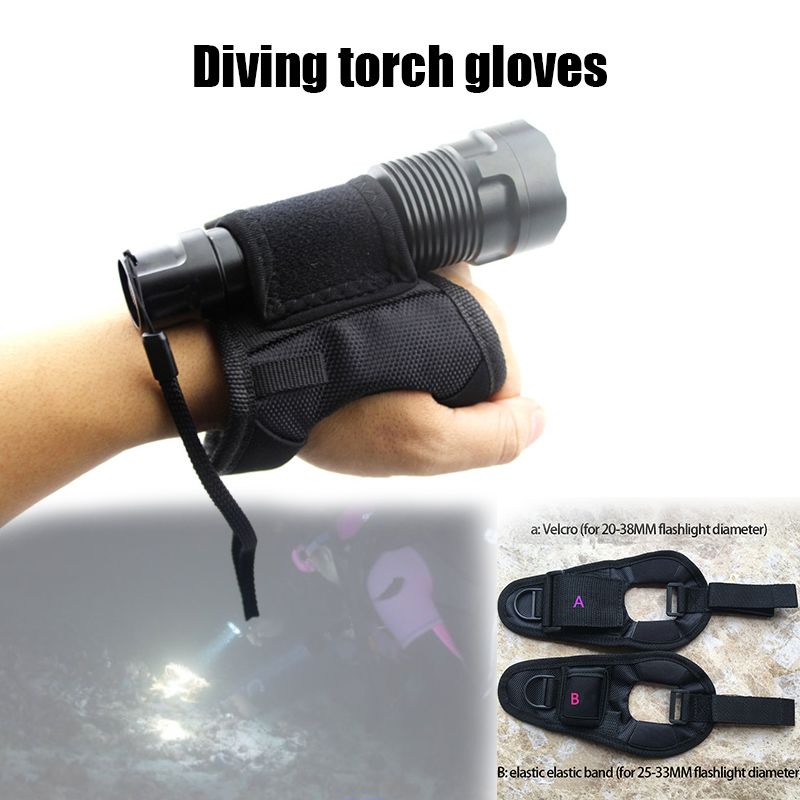 Arm Set Flashlight Special Set Of Diving Fill Light Accessories Diving Hunting Fishing Outdoor Activities YS-BUY