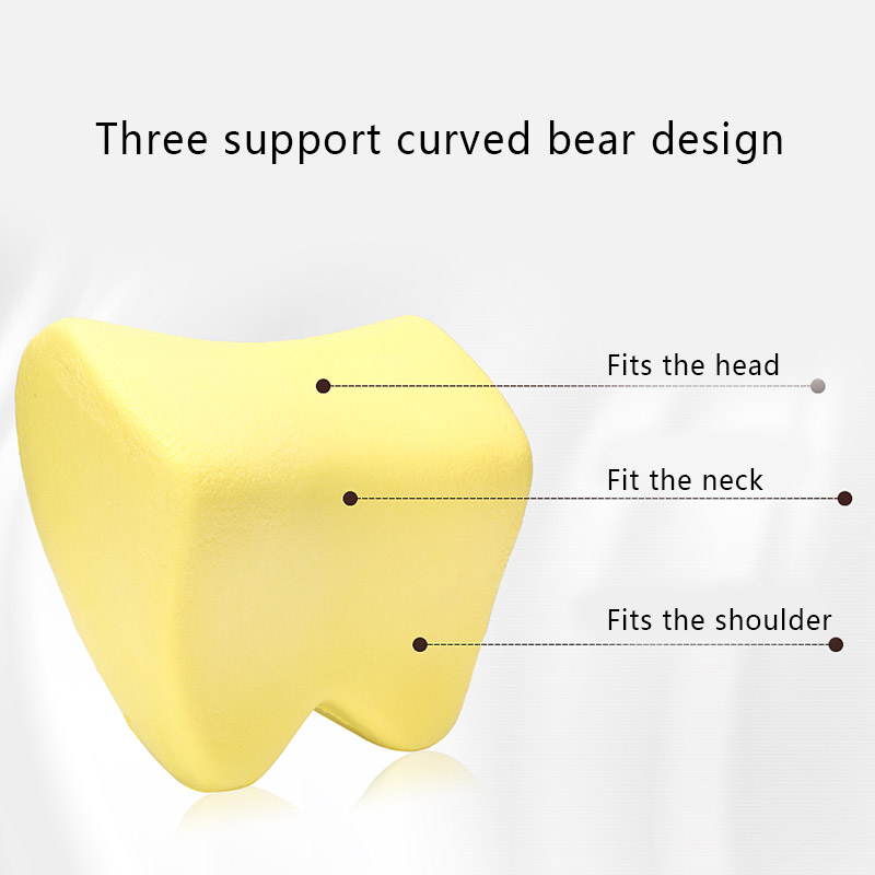 Car Pillow Seat Lumbar Support Cushion Back Pillow Memory Cotton Lumbar Support For Office Chair Cushion For Car Auto 4
