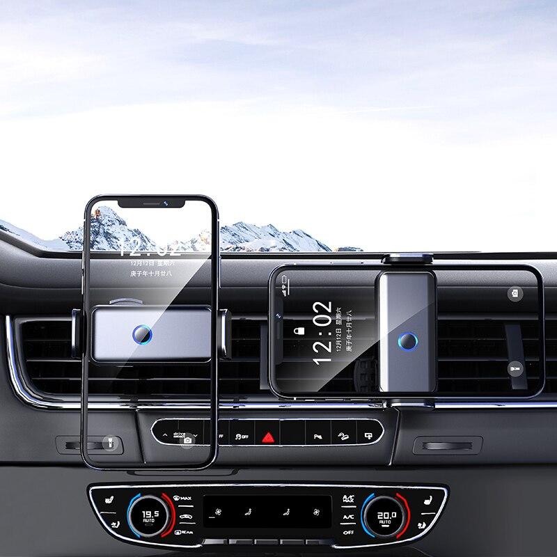 360 Degree Rotation Intelligent Automatic Sensing Phone Mount