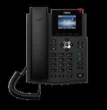 Teléfono IP X3SP, marca Fanvil, teléfono inalámbrico SIP, compatible con dos pantallas LCD VoIP para cuentas, teléfono IP para oficina de negocios en casa