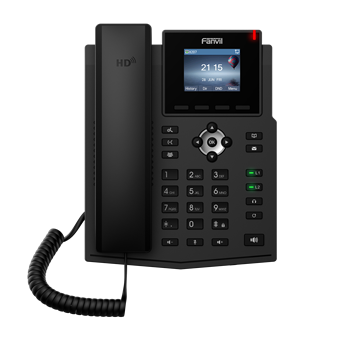 X3SP IP Telephone Fanvil  Brand Wireless SIP Phone Support Two VoIP LCD Screen For Accounts Home Business Office IP Telephone