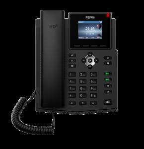 Image 1 - X3SP IP telefon Fanvil marka kablosuz SIP telefon desteği iki VoIP LCD ekran hesap ev iş ofis IP telefon