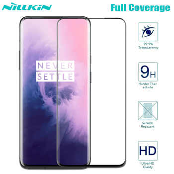 Oneplus 7T Pro Tempered Glass Oneplus 7 Pro Screen Protector Nillkin 3D Full Coverage Glass Safety Glass for One Plus 7 7T Pro - Category 🛒 All Category