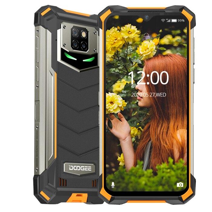 IP68/IP69K DOOGEE S88 Pro teléfono resistente 10000mAh Batería grande cambio rápido Helio P70 Octa Core 6GB RAM 128GB ROM Android 10 OS Versión Global Xiaomi Note 8 Pro 128GB ROM 6GB RAM (Nuevo / Sellado) note 8 pro, note8pro, note8 Teléfono Móvil