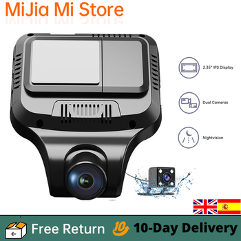 Car DVR Dash Camera Recorder Anytek T99 1080P HD Driving Recorder G-sensor IPS Display F1.4 Built-in Speaker 2-CH Car Dash Cam