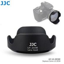 JJC Bayonet Camera Lens Hood for CANON PowerShot SX1 IS SX10 IS SX20 IS SX30 IS SX40 IS SX50 HS SX530 HS Replaces CANON LH DC60