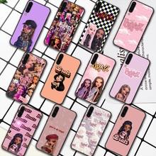Fashion Brand Doll Bratsy Phone Case For Samsung Galaxy A7 9 8 10 20 20e 21 S 30 30S 31 41 50 50S 51 70 71 91 black Back Luxury