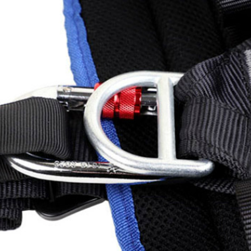 ELOS-Full Body Climbing Harness Belt Adjustable Harness Security Seat Belt Mountaineering Rescue Protective Belt