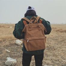 Fashion Large Corduroy Women Backpacks Quality canvas Teenage Girls Female School Book Bag Shoulder Bagpack mochila