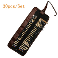 30pcs/Set Carving Kit Pottery Clay Sculpture Modelling Wax Carving Pottery Ceramic Tools For DIY Craft Wood Models