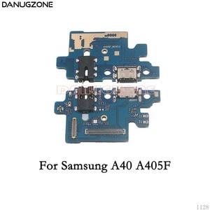 Image 5 - Usb Charging Dock Port Socket Jack Connector Charge Board Flex Kabel Voor Samsung A10 A105F A20 A30 A305F A50 A505F a7 2018 A750F
