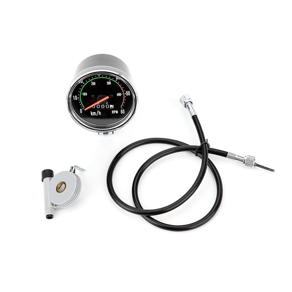 Mechanical Speedometer Universal Classical Bike Cycling Odometer Stopwatch Waterproof Bicycle Tachometer Gauge For Bicycle