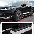 Стайлинг автомобиля для dongfeng Honda CRV 2017-2019  защита бокового порога  накладка  приветствуем покрытия для педалей  планки