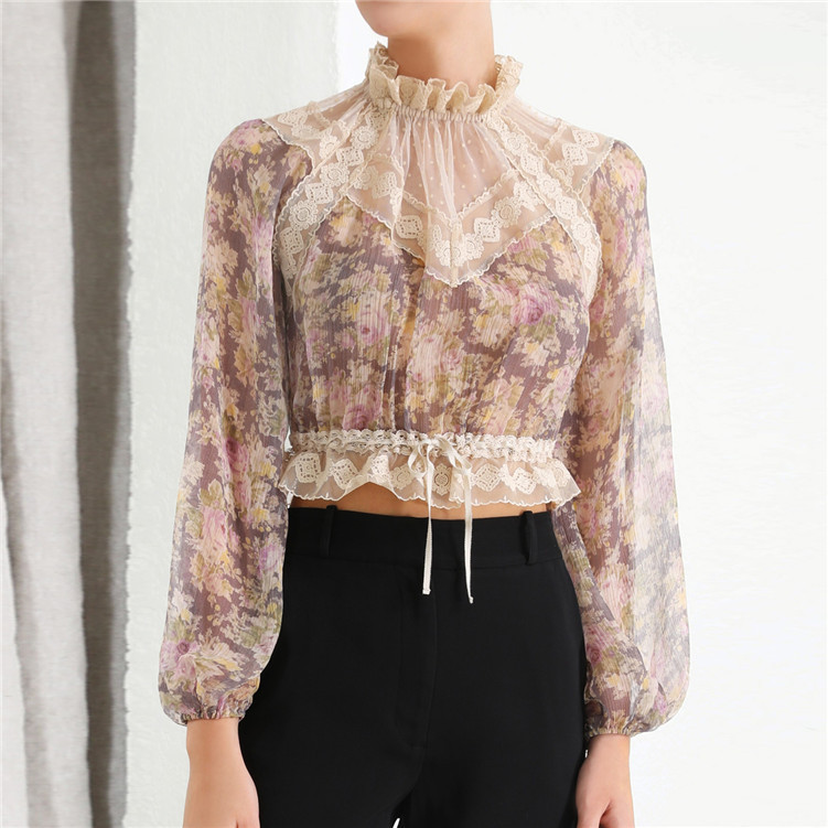 Lace Summer STREET Blouse 11