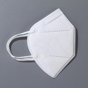 Image 5 - Dorpshipping 50 stücke weiß masken Staub proof Anti nebel Und Atmungsaktiv Filtration Gesicht Masken 4 Schicht Sicherheit Mund masken Einweg
