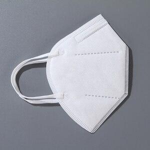 Image 5 - Dorpshipping 50 шт. белые маски, пыленепроницаемые противотуманные и дышащие маски для лица, 4 слойные защитные одноразовые маски для рта