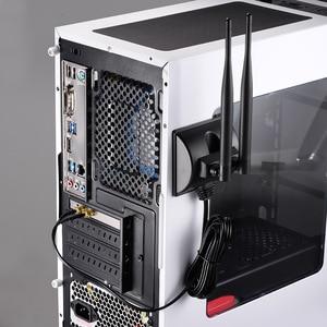 Image 5 - Superbat 6DBi Omni Directional Dual Antenna RP SMA Plug(Female Pin) Connector for Indoor WiFi Wireless Range Signal