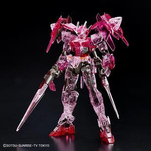 Image 4 - Bandai Hgbd 1/144 GN 0000DVR Gundam 00 Diver Rosso Trasparente Edition Action Figure Del Giocattolo di Modello di Montaggio