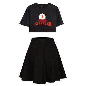 Image 3 - Strange Things T shirt, Cosplay T shirt, course à pied, Costume onze strange Things, robe de Sport