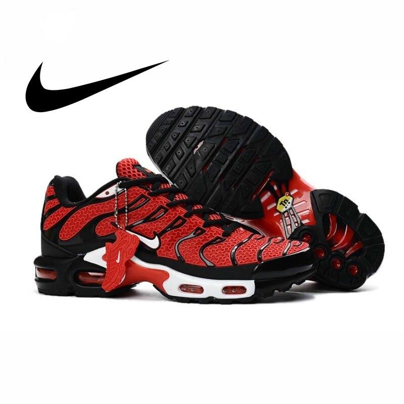 Nike Air Max Plus TN nouveauté originale hommes chaussures de course respirant anti-dérapant Sports de plein Air baskets nouveau