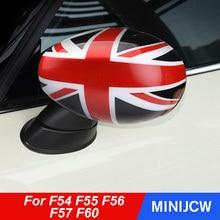 Coque de protection pour rétroviseur de voiture, accessoire pour conduite à droite, pour Mini Cooper F54 F55 F56 F60 2019 2020