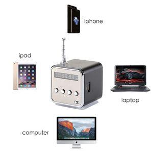Image 2 - TD V26 Mini Speaker Portable Micro Sd Tf Card Usb Disk Stereo Voor Dvd Laptop