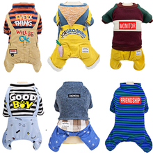 Pet-Clothing Chihuahua Jumpsuits Rompers Costume Jackets Outfit Dogs-Supplies Dogs-Coat