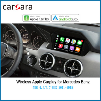 Wireless CarPlay Adapter for Merce des GLK 2011-2015 with Android Auto Mirror Link AirPlay Car Play Functions image