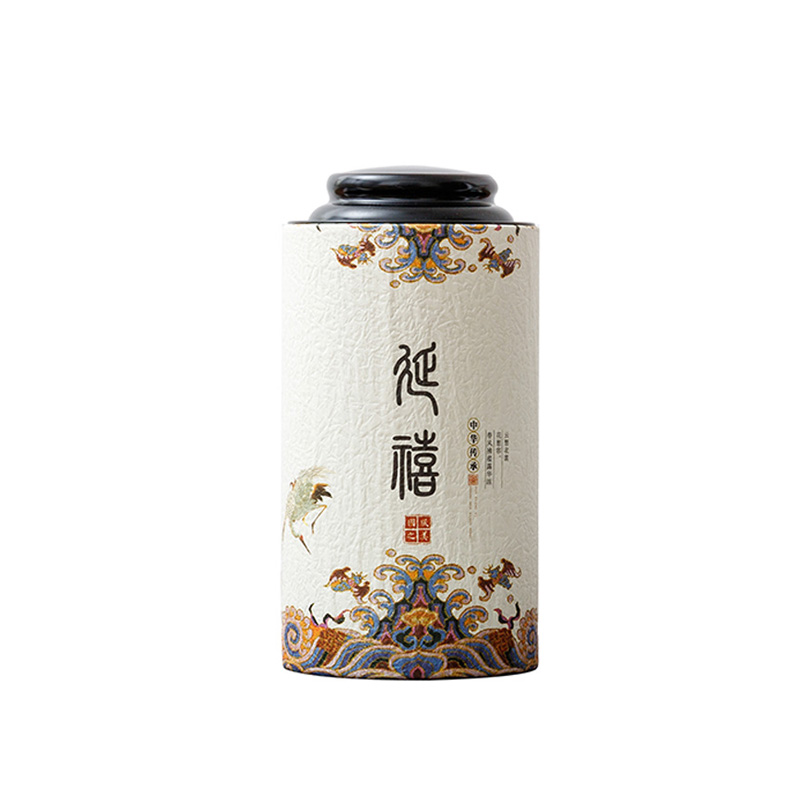 Star Packaging Food Grade Composite Can Green Tea Paper Can