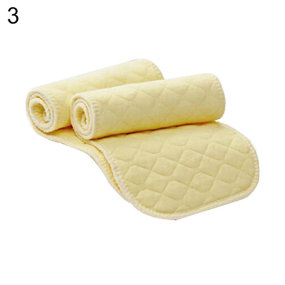 Pañales de bebé de microfibra gruesos de 3 capas, 10 Uds., pañales de tela reutilizables para bebés recién nacidos forro protector para pañales Fraldas para el cuidado del bebé