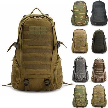 27L Rucksack Tactical Backpack Military Backpack Tactical Bag Army Travel Outdoor Sports Bag Hiking Hunting Camping MOLLE Bag