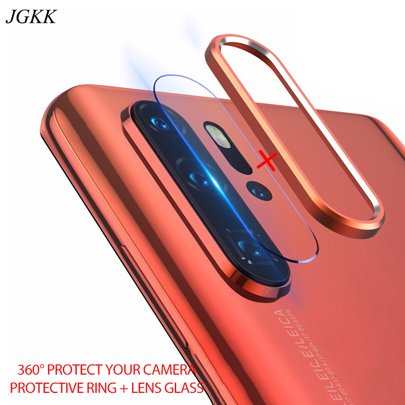 Rear Camera Lens Glass For Huawei P30 Pro Camera Protective Cover For P30 Pro Aluminum Metal Lens Protective Ring For P30Pro
