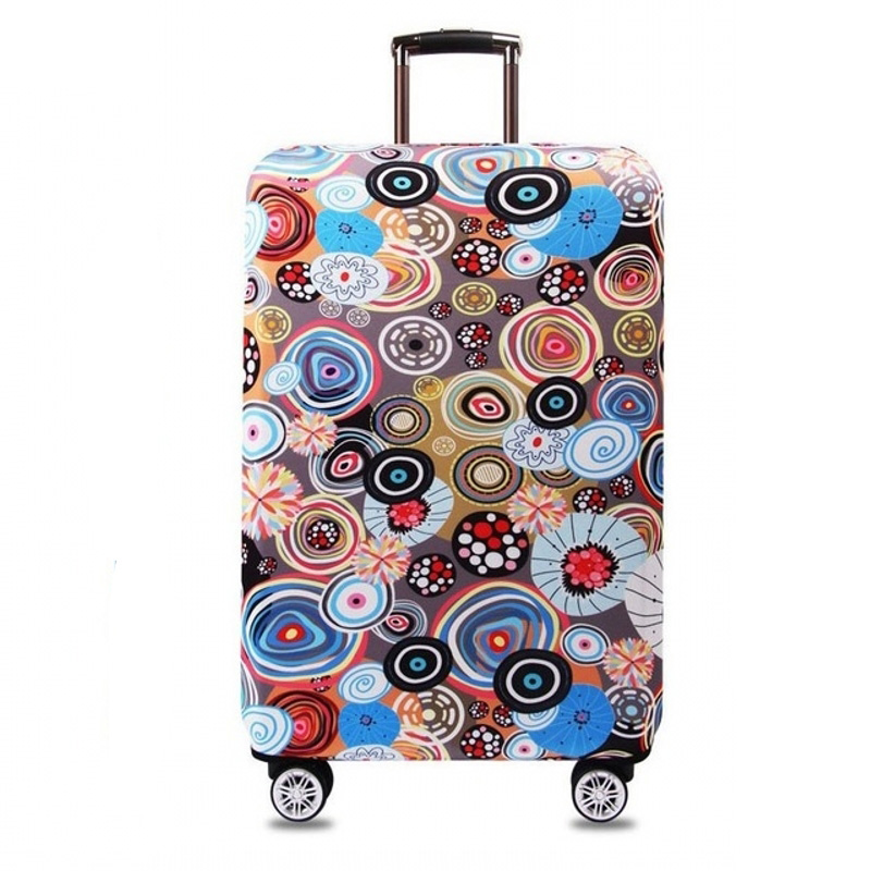 Suitcase Case Travel Accessories for S / M / L / XL 18-32 ''Inches, Suitcase Elastic Protective Cover, Trolley Case Luggage Cover