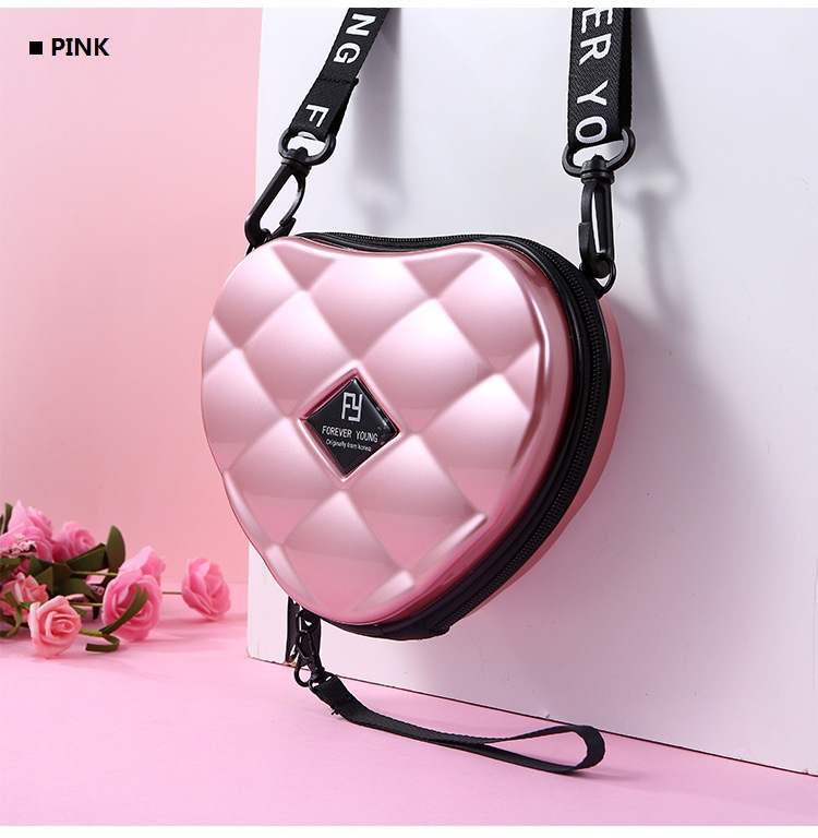 Hceb0d0cda1c04f36ad34208568c024577 - Fashion Luxury HandBags Heart Shaped PVC Mini Shoulder Bag for Woman Fashion Designer Personality Small Box Women Purses