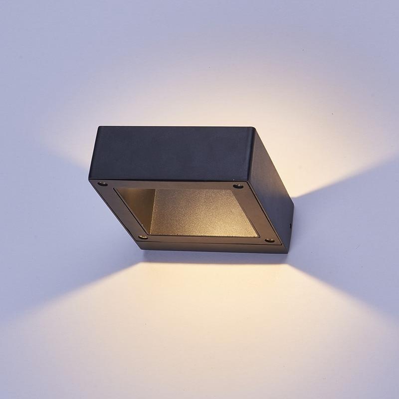 (WECUS) Die-cast aluminum bracket light, Outdoor waterproof LED wall lamp, outdoor engineering decoration lighting,