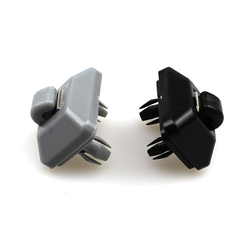 LARBLL Nou Grey / Negru Inner Sun Bracket Hook Support pentru Audi A1 A3 A4 A5 Q3 Q5 8U0857562A De înaltă calitate