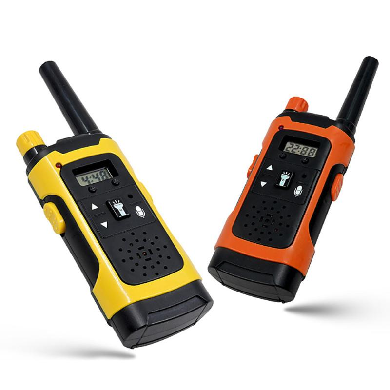Wireless Children's Mini Walkie Talkie Parent-Child Interaction LED Light Outdoor Call Walkie Talkie Communicator Gift For Child