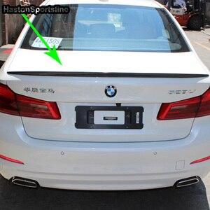 Image 5 - G30 M5 스타일 M 성능 탄소 섬유 후면 트렁크 립 스포일러 자동차 윙 BMW 530i 540i G30 2017UP