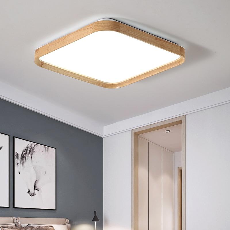 Современный светодиодный потолочный светильник, Круглый, для ресторана, для детской комнаты, простой, Северный, Европейский стиль