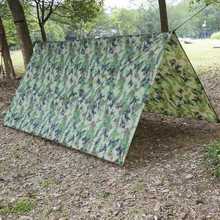 Outdoor Shelter Ultralight Terpal Camping Survival Berjemur Shelter Multifungsi Tahan Air Pantai Tenda Pantai Tikar Tempat Penampungan Hujan(China)