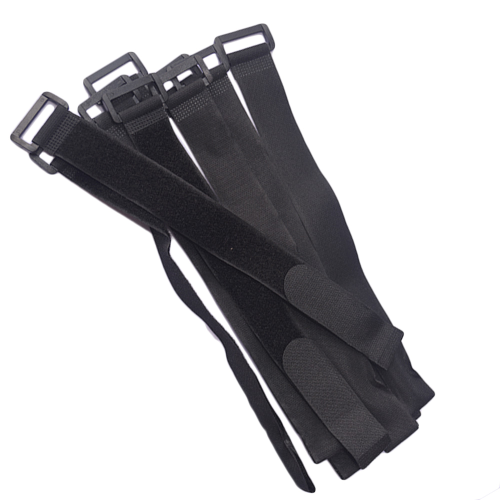 5 PCS 30mm*400/600/800/1000mm Cable Bie Buckle Button Buckle,39 INCH Velcro Strap Ties Nylon Hook & Loop Strap Magic Cable Ties