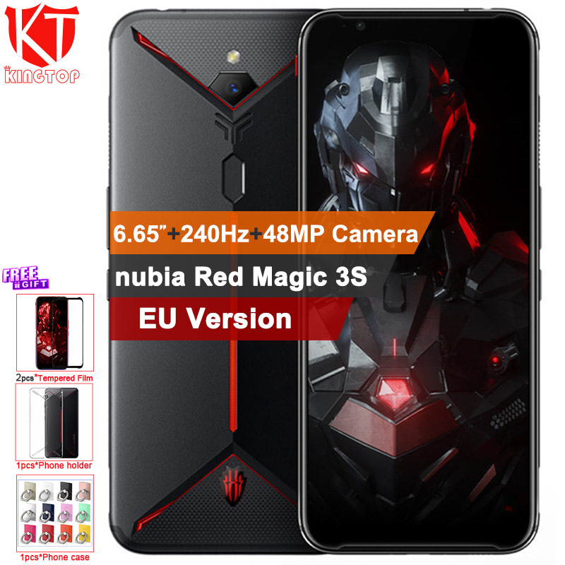 EU Version Original ZTE nubia Red Magic 3S Mobile phone 8G 128G 6.65