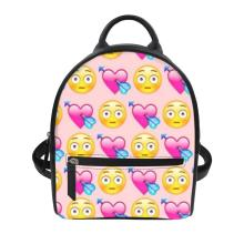 women bag large capacity Funny face Print backpacks women backpack school bag for teenage girls light ladies travel backpack