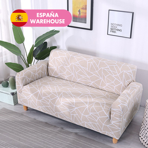 Image 1 - Beige Sofa Cover Stretch Furniture Covers Elastic Sofa Covers For living Room Copridivano Slipcovers for Armchairs couch covers
