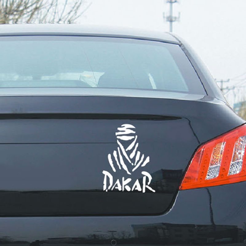 Universal Creative DAKAR Off-road Reflective Waterproof Car Sticker Decal