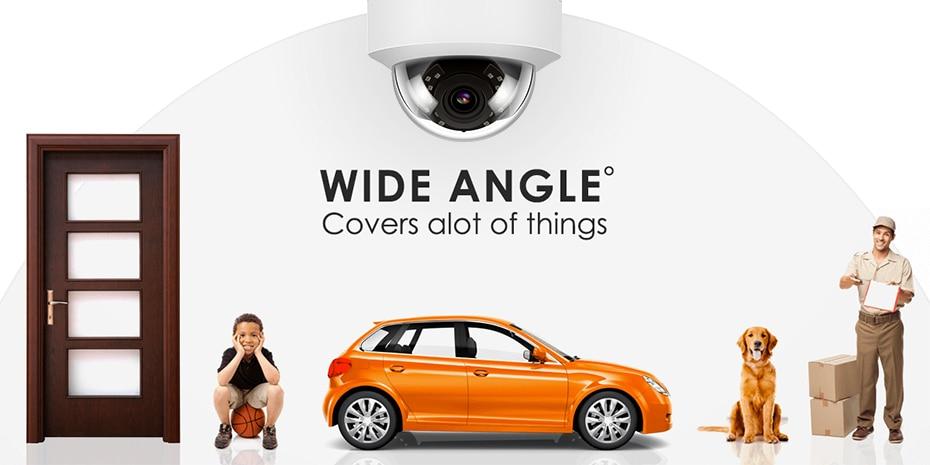 Hceb28a884ce443e9a362d3e0bee2c0e0l 5MP POE IP Camera with Microphone, Audio, IP Security Dome Camera outdoor IP66 Indoor Outdoor ONVIF Compatible Hikvision